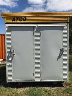 2.4 m x 2.4m ATCO MFT010 2 Door Male Female Portable Toilet Donga
