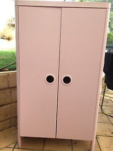 IKEA pink Busunge childrens wardrobe Hahndorf Mount Barker Area Preview