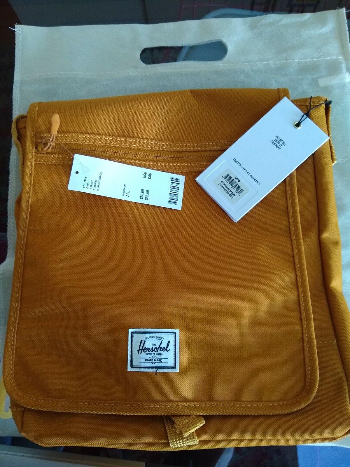 Herschel Lane Cross Body Bag, Buckthorne