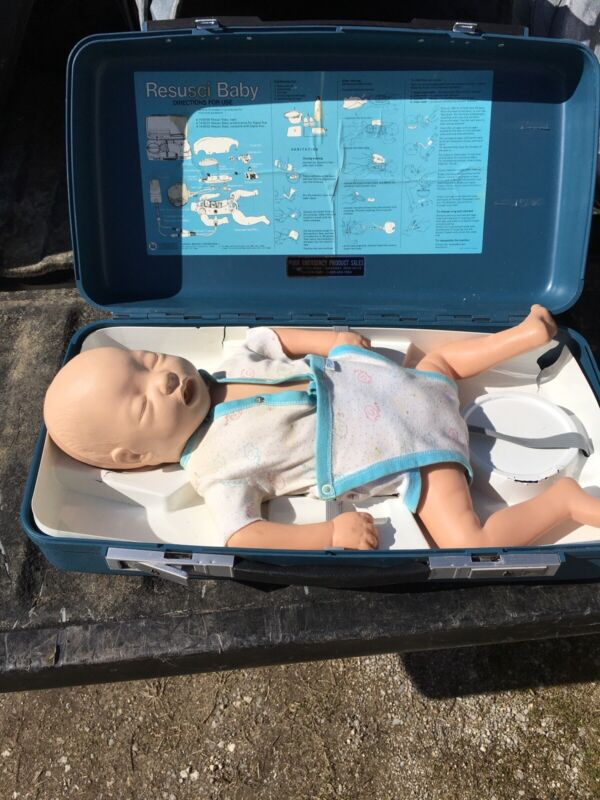 Laerdal Resusci Baby CPR Training Doll With Case