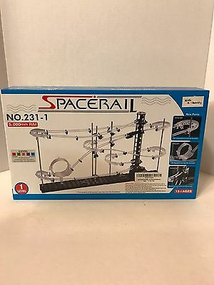 NEW Spacerail -  Level 1 -  Beginner RollerCoster Marble Toy Gift 5,000mm Track - Marble Track