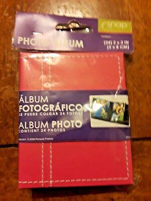 2x3 Photo Album (Pinnacle frame & accents photo album (24) 2x3)