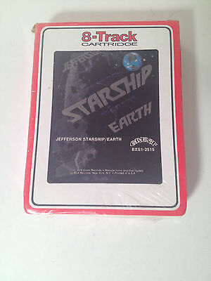 Jefferson Starship Earth 8 Track Cassette Tape - Vintage WRAPPED MINT