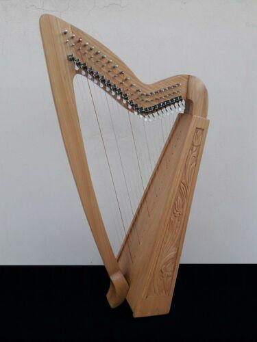 Geoffrey | Limerick 22 Strings Ashwood | Gevon Irish Harp with levers | H10L