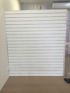 Shop fitting slot panel wall Geraldton Geraldton City Preview