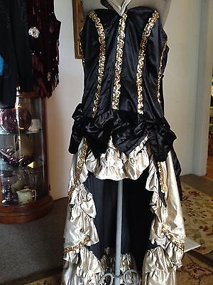 Dynamite Gold Black Dancehall Outfit