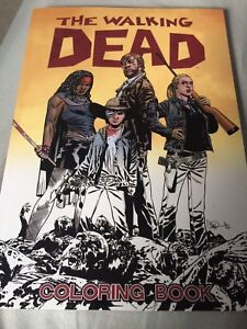 Walking dead colouring book