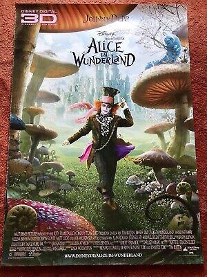 Alice im Wunderland Kinoplakat Poster A0, 84x119cm, Johnny Depp, Tim Burton (Alice Im Wunderland Poster)