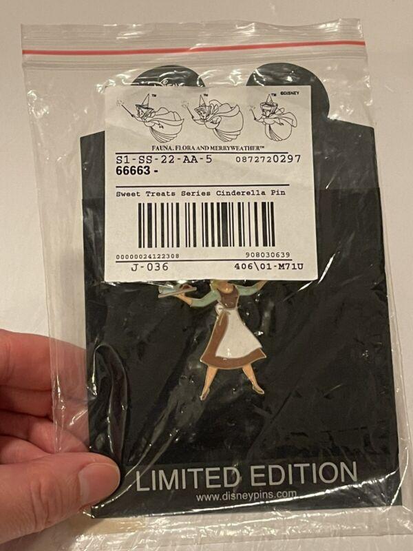 Disney Shopping LE 250 Cinderella Sweet Treats Pin