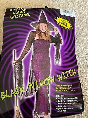 Halloween Black Widow Witch Costume adult women - Black Widow Costume Adult