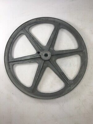 Congress Ca1200 V-grooved Pulley 12 Diameter Type A 12 Bore Ca 1200 Nos