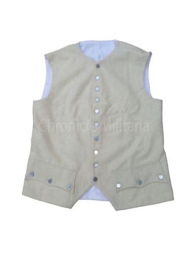 Revolutionary war wool vest