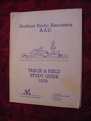 Southern Pacific Association AAU Track & Field 1979 Study Guide