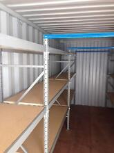Container Shelving for 20 Ft Container Both Wall Sides Banyo Brisbane North East Preview