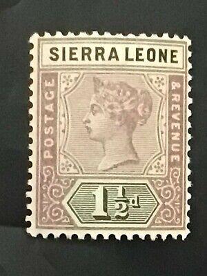 Sierra Leone stamp QV 1897 1 1/2d lilac MH