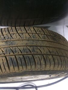 Used tires size 195/65/15 in very good condition with the rims