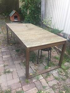 Outdoor Table And Stools Kogarah Rockdale Area Preview