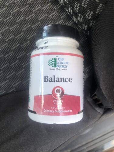 Balance by Ortho Molecular Women's Health 60 capsules Exp 08/31/20