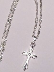 Tiny-Diamond-Cut-Cross-with-White-Gold-GP-Rope-Chain-16