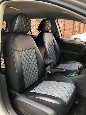 VW Passat 3C B6 /& B7 Maß Schonbezüge  Sitzbezüge 1+1 Kunstleder D102