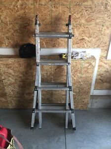 Step Ladder with Extension