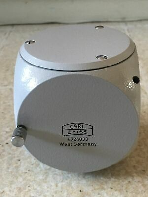 Zeiss Optical Microscope Component Multiple Head Mount 4724033