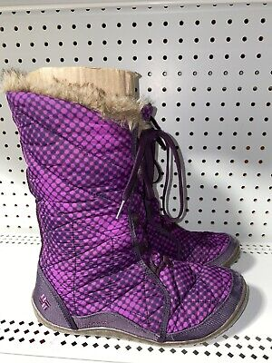 Columbia Minx Mid Womens Waterproof Insulated Winter Snow Boots Size 9 Purple Columbia Winter Snow Boots