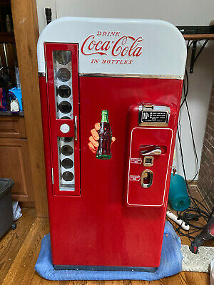 Vintage Vendo 81 Coca-cola Vending Machine Professionally Restored