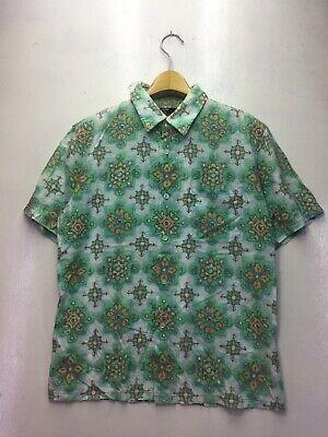 CABANE DE ZUCCA ISSEY MIYAKE Hawaiian Shirt