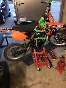 Dirt bike and accessories