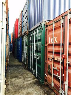 CHEAP! SHIPPING CONTAINER ECONOMY USED 20FT