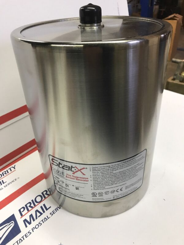 Stat-X 2500E Fire Suppression Aerosol Generator Electrical Unit New Extinguish