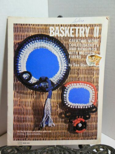 BASKETRY II Coiling Coiled Baskets Wall Hanging Basketmaking How To Make Stanli