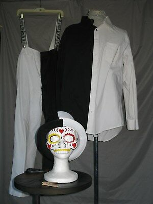 Day of the Dead Costume All Souls Dia de Muertos Mardi Gras Outfit (All Of The Costumes)