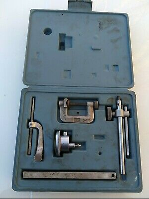 Vintage Ames 22a Dial Indicator Set With Case - Made In Usa