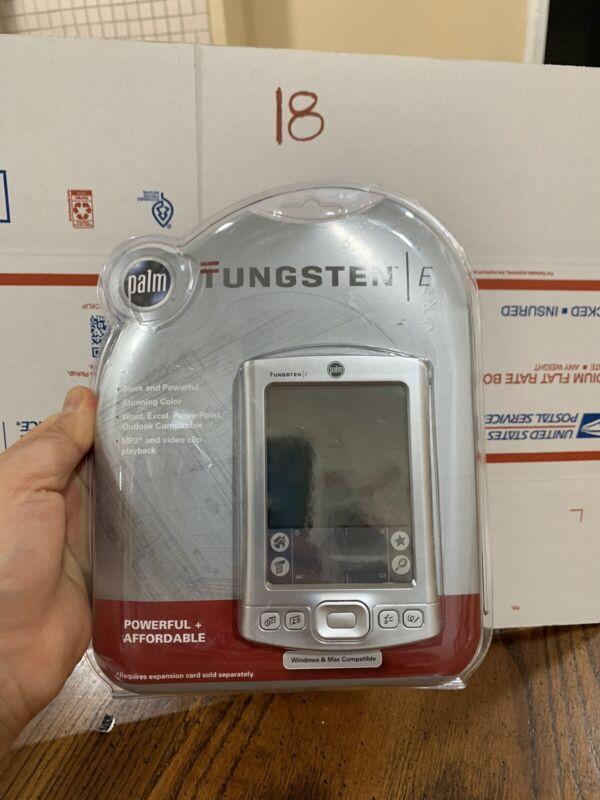 PalmOne Tungsten E  w/ Battery   Complete   Windows & Mac Compatible NEW SEALED