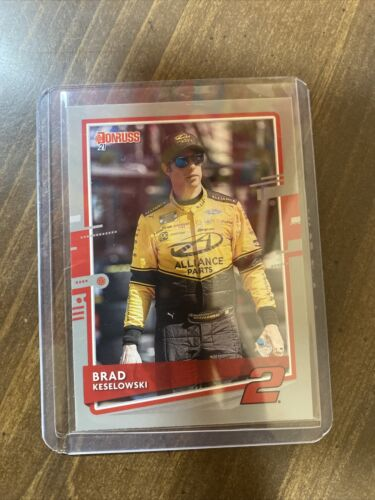 Brad Keselowski 2021 Donruss Silver Card # 48
