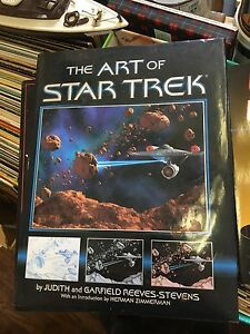 The Art of Star Trek Book