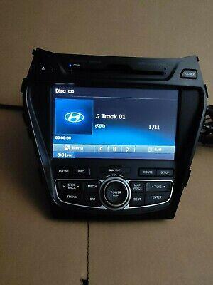 12 13 Hyundai Santa Fe Dimension XM Bluetooth RADIO Navigation TOUCH-SCREEN -
