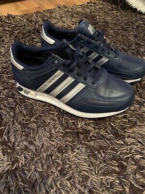 adidas la trainer Trainers Blue Size 4.5 Bnwob