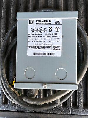 Schneider Electric500va Buck Boost Transformer Input Voltage 120vac 240vac O