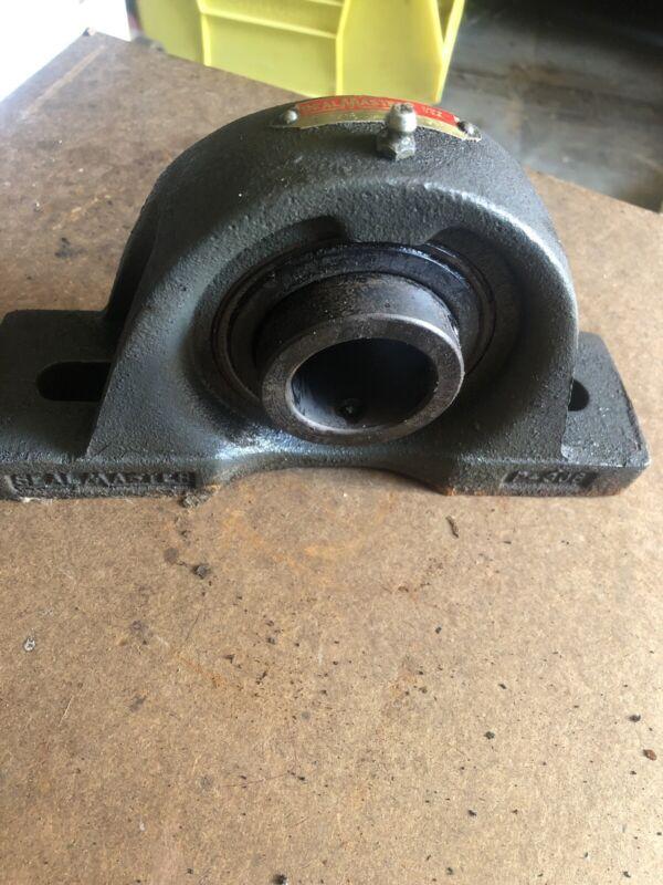 """SealMaster Pillow Block Bearing: MP-23, 1-7/16"""" Dia Shaft, 2 Bolt,  P-306"""