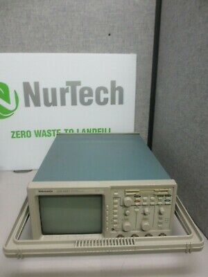Tektronix Tds 420a Four Channel Rack Mount Oscilloscope 200 Mhz