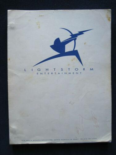 ORIGINAL SCRIPT for TITANIC by JAMES CAMERON - OSCAR WINNING Film