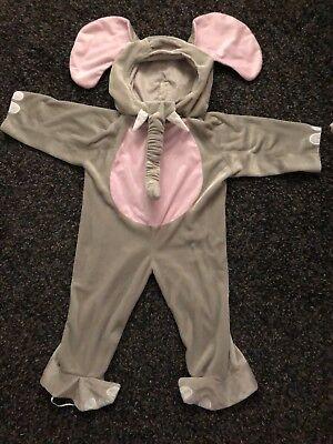 3t Elephant Costume (Toddler Cuddly Elephant Animal Costume 3T-4T)