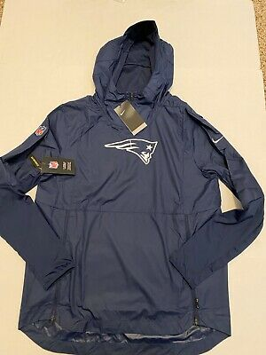 New England Patriots Nike Repel Lightweight Pullover Hoodie Jacket Men's Sz: 2XL