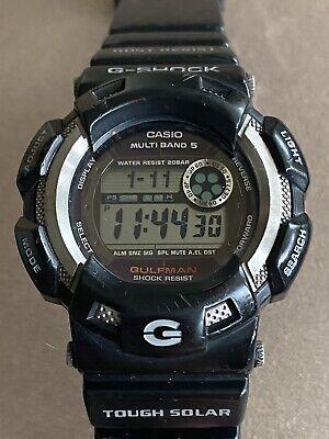 CASIO Gulfman G-Shock 3089 GW-9100 Multi Band 5 Sports Watch