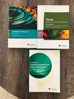 QUT LAW BOOKS TORTS LLB102 + LEGAL DICTIONARY