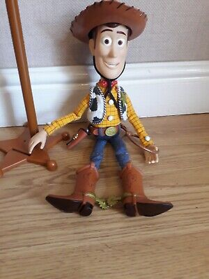Toy Story Woody Talking Pull String  SIGNATURE DOLL CUSTOMISED WITH STAND