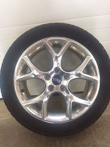 Car wheels and tires